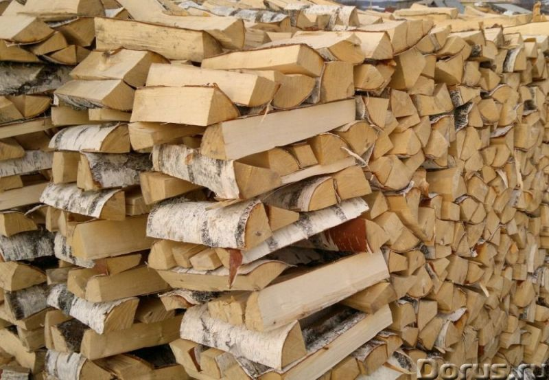 Дрова берёзовые в домодедово видное - Лес и древесина - Дрова берёзовые колотые, в машине уложенные..., фото 1