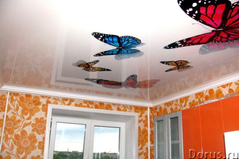 Натяжные потолки в домодедово видное - Ремонт и отделка - Натяжные потолки. Большой выбор цветов. вы..., фото 1